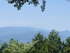 明王峠からの展望