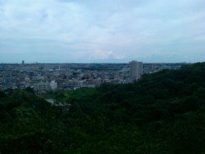 枡形山の展望台