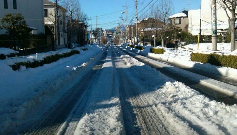 「相模原・町田の積雪道路状況写真 2月16日朝」のアイキャッチ画像