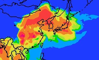 「PM2.5濃度が相模原でも上昇しています」のアイキャッチ画像