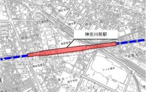 リニア新幹線・橋本駅(神奈川駅)