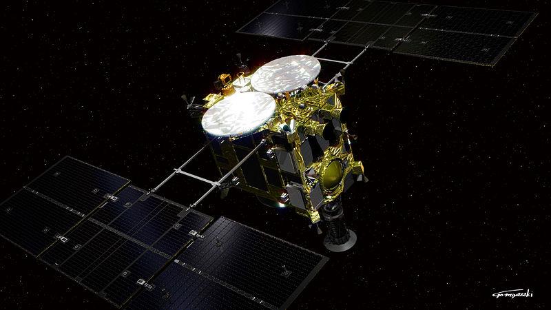 「はやぶさ2【リュウグウ到着】管制室は相模原 地球帰還まで約52億キロ約6年飛行のミッション」のアイキャッチ画像