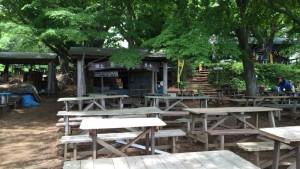 景信山の売店