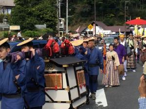 小原宿本陣祭の大名行列